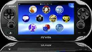 Mint PS Vita with charger and one game