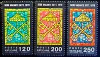 Vaticano 1978 Seconda Sede Vacante 3 Val.nuovi -  - ebay.it