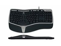 Keyboard, Microsoft Ergonomic 4000