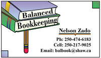 Bookkeeping, Income Tax Preparation