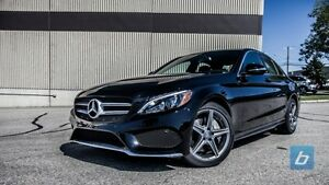 2015 MERCEDES-BENZ C400! 24 MONTHS REMAINING! IMMPECABBLE CAR!!!