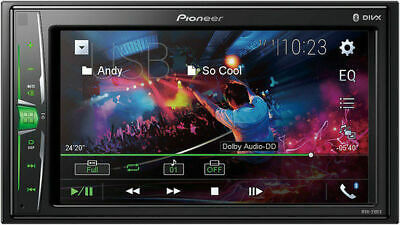 "Pioneer MVH-210EX Double 2-DIN 6.2"" Touchscreen Car Stereo M"
