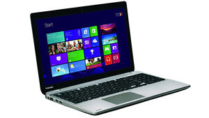 "Gently Used Toshiba Satellite with 15.6"" touchscreen"
