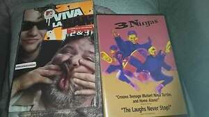 DVDs brand new in package.
