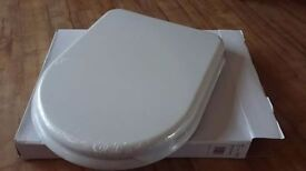 NEW Soft close toilet seat and back to wall pan