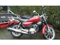 125 Yamaha YBR Custom 2012