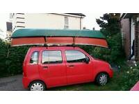 Two canoes for sale aprox 13ft in length