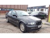 """TRADE IN TO CLEAR"" BMW 318i SE (2001) - SALOON - MOT - HIGH MILES - SERVICE HISTORY - HPI CLEAR!"