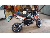 Bouser bsr 125 with 140cc head