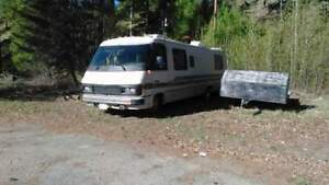 Good condition.  31 foot motor home.  Bc registered