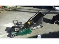 Fully serviced Hayes Petrol mower.