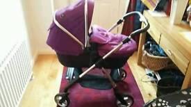 Silvercross Wayfarer Damson pushchair/pram/seat