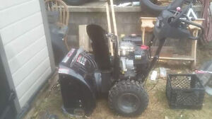 Snowblower used  ..great condition