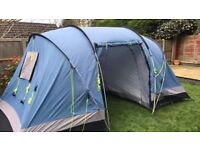 4 Man Tent with ground sheet and camping stove
