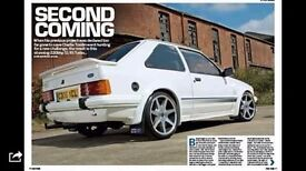 Series one escort rs turbo 250 bhp fast ford magazine featured