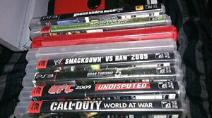 Ps3 games $4 each 35 for all !!