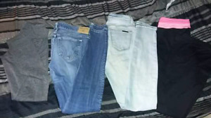 4 pairs of women's pants