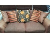 2 x 3 seater sofas. excellent condition