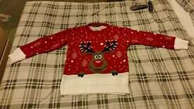 Woman's Christmas Jumper.