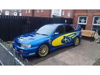 Subaru full sti rep!!