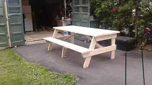 Picnic table (custom made)