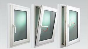 Triple Pane PVC Tilt&Turn Windows from $45 a sq.foot