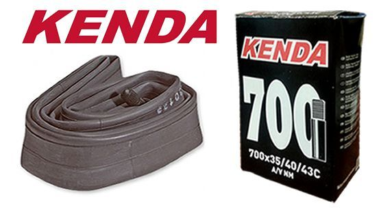 KENDA 700C RACE ROAD CITY BIKE BICYCLE INNER TUBE 700 x 35-43C SCHRADER NEW