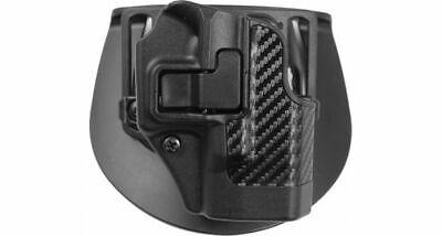 Cqc Serpa Holster Carbon Fiber (BlackHawk CQC Serpa Holster fit Glock 26 27 33 Carbon Fiber Finish 410001BK-R  )
