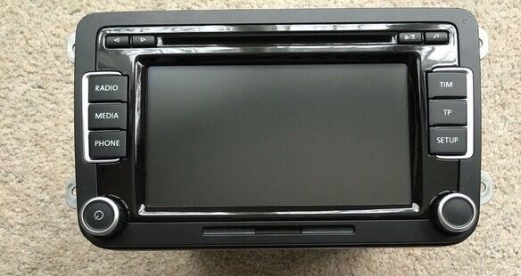 Genuine VW RCD 510 Touchscreen Radio 6 CD Disc Changer MP3 SD