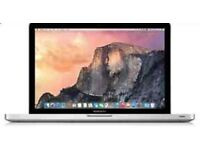 Apple MacBook Pro Retina 13inches 2.7ghz, 8gb 256GB Early 2015 the latest model Apple care 2018