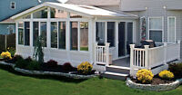 PETERBOROUGH - SUNROOMS, PORCH ENCLOSURES, SOLARIUMS