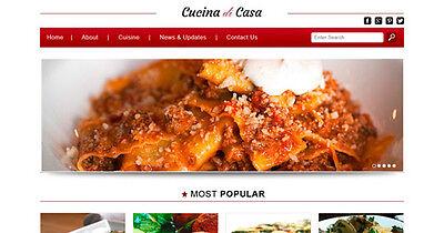 Cucucina Di Casa Responsive Wordpress Theme