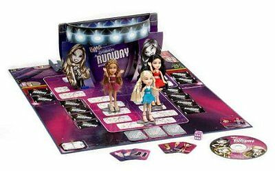 Bratz Passion For Fashion Runway Board Game Models & Music Girls Doll Fun