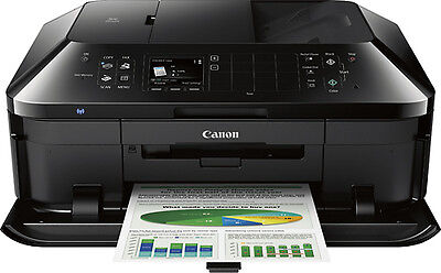 Canon - PIXMA MX922 Network-Ready Wireless All-In-One Printer - Black