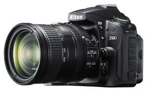 Nikkor Lenses Set with Nikon D90 Body