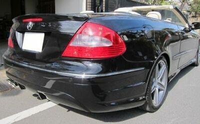 Für Mercedes A209 Cabrio C209 Coupe Heck Spoiler Spoilerlippe Kofferraum Lippe