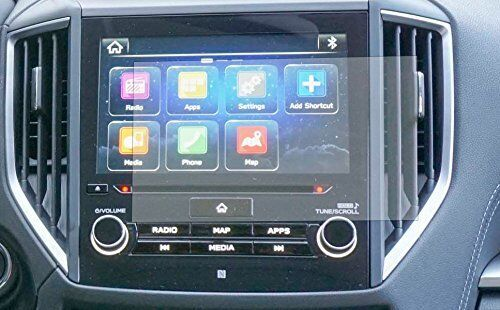 """Set of 2 2019 Subaru Forester Ascent 8"""" Starlink Infotainment Touch Protector"""