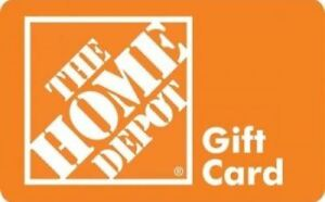 Looking for Home Depot gift card or store credit