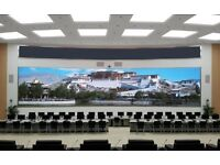 GIANT PROJECTOR SCREENS HOME CINEMA PURE WHITE VINYL 20,30 OR 40 FT X 10FT £20,£30,£40 RESPECTIVELY