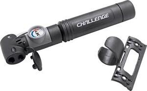 Challenge Mini Bike Cycle Air Pump With Gauge Dial  & Fixing Bracket