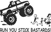 4x4 4WD Stickers