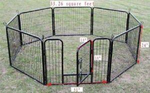 enclos multipositionnel pour l'exterieur