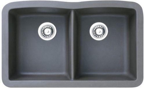 Black Double Kitchen Sink eBay