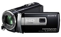 CAMCORDER WITH PROJECTOR FUNCTION- SONY HDR PJ200