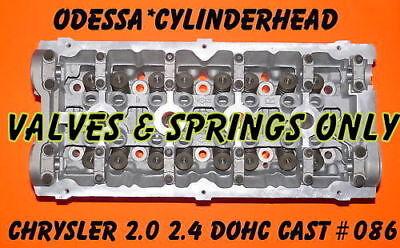 CHRYSLER PT CRUISER  DODGE NEON CARAVAN 2.4 DOHC CYLINDER HEAD VALS&SPRING - Chrysler Sebring Cylinder Head