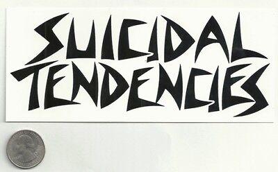 SUICIDAL TENDENCIES new Sticker/Decal rock metal band music bumper car