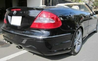 Heck Spoiler Spoilerlippe Kofferraum Lippe für Mercedes A209 Cabrio C209 Coupe
