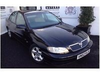 Beautiful Vauxhall Omega Saloon 2.2L- with 10 months MOT- GREAT BARGAIN!