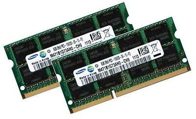 2x 8GB 16GB DDR3 RAM 1333 Mhz APPLE MacBook Pro + iMac 2011 Samsung PC3-10600S