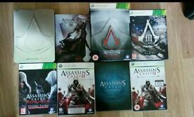 Assassins Creed Xbox360 special editions
